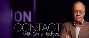 chris hedges on contact logo