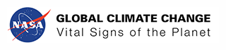 nasa global climate change logo